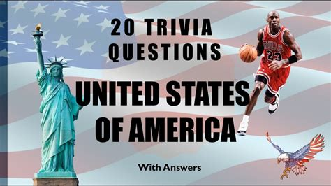 quiz questions usa 20 trivia questions united states of america no 1 youtube