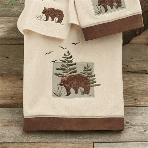Denali Bear Bath Towel
