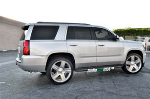 2015 chevy tahoe on 24 quot wheels