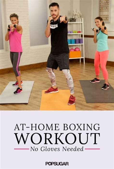 this at home boxing workout is a knockout popsugar