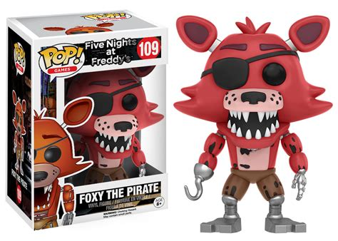 foxy five nights at freddys figura pop five nights at freddys foxy the pirate