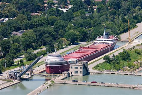 Port St Car the welland canal