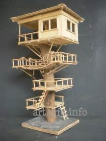 how to make a tree out of sticks amzig sticks tree craft here s another tree house that