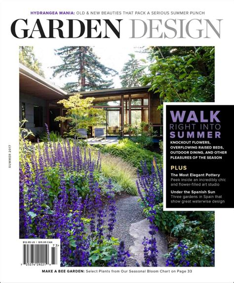 Garden Decor Magazine Planting Inspiration Inside Garden Design Magazine