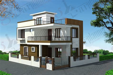 indian duplex house plans home design duplex house plans duplex floor plans ghar planner bungalow front view