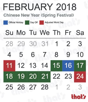 new year date 2018 china here are your 2018 holidays thatsmags