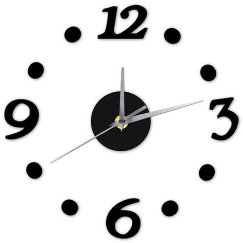 Promo Diy Acrylic Wall Clock 30 50cm Diameter Jam Din Diskon popular large outdoor wall clocks buy cheap large outdoor wall clocks lots from china large