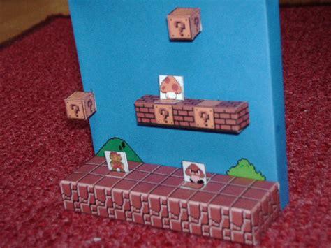 Papercraft Diorama - papercraft mario diorama 2 by esteban1988 on deviantart