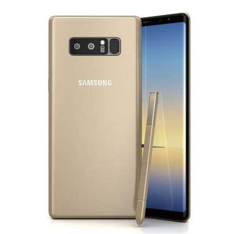 Samsung Note 8 Gold samsung galaxy note 8 mobil planet shop