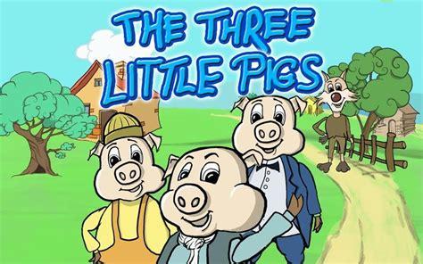 the three little pigs the three little pigs три поросёнка