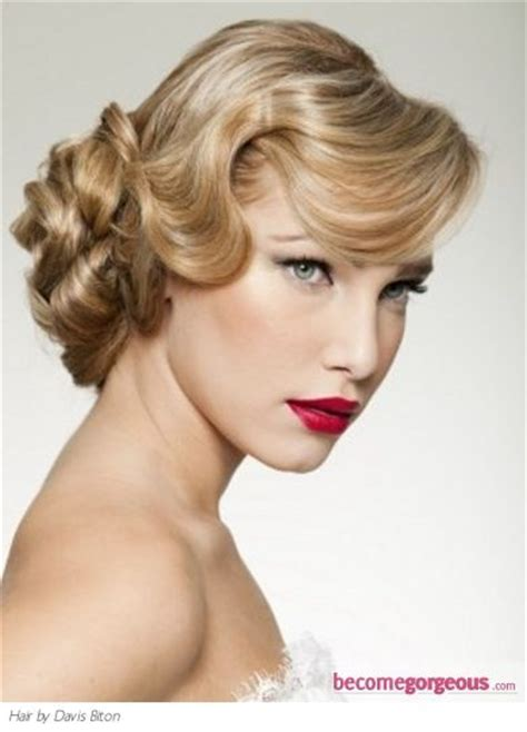 how to do a 1920s updo 1920s updo vintage style hair and fashion pinterest