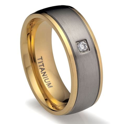 Wedding Ring Titanium by The Mens Titanium Wedding Rings Wedding Ideas And