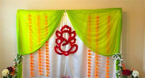 housewarming decoration green   white combination