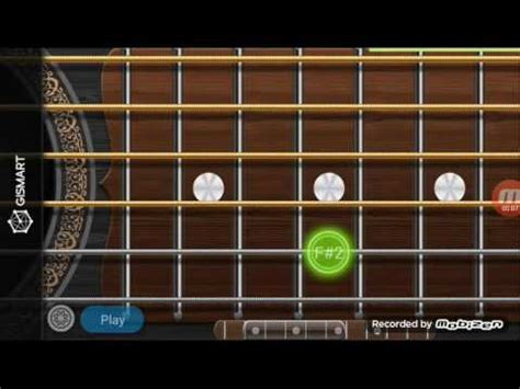 tutorial guitar real real guitar app don t let me down by chainsmokers