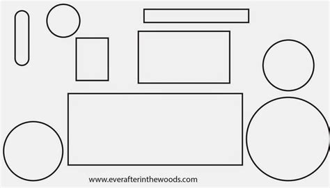 Ever After In The Woods April 2014 Clip Art Library Tractor Template For Preschoolers