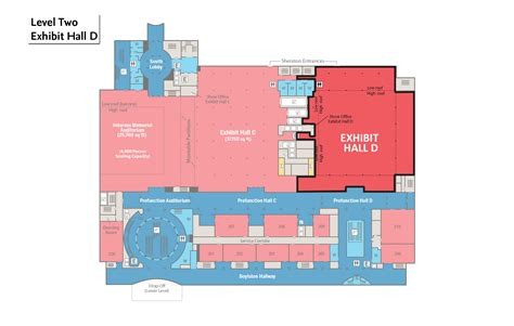 layout plan for exhibition exhibit halls signature boston