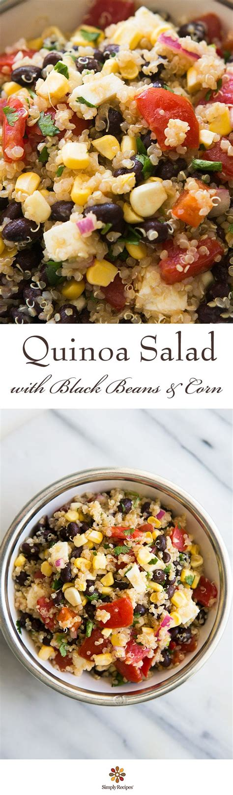 mexican quinoa salad with black beans and shape magazine 17 best ideas about lunch menu on pinterest food for
