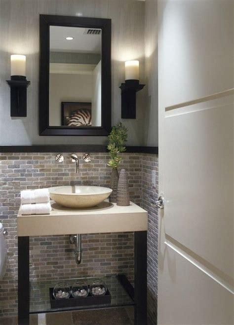 1000 ideas about small half bathrooms on half