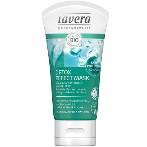 True Organics Detox Mask by Lavera Detox Effect Mask Cleansing Mask Organic Mask