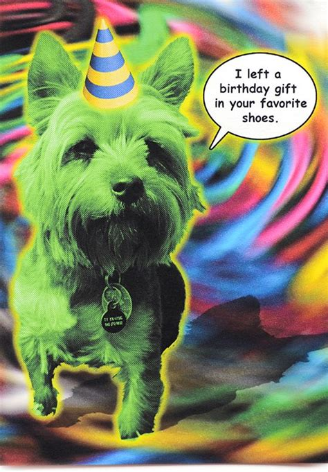 psychedelic birthday cards bad birthday card is crafted in popliments