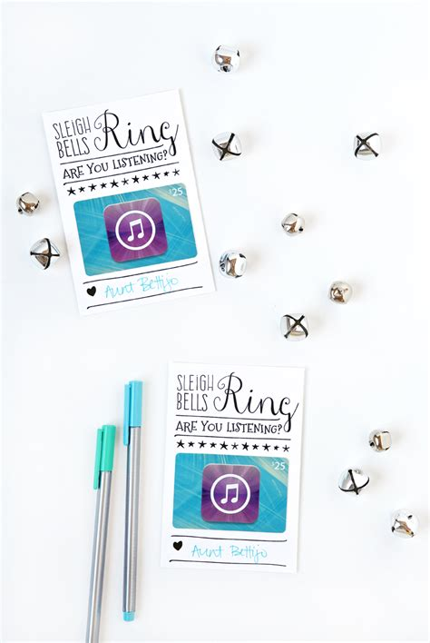 Itunes Gift Card Printable - itunes gift card christmas packaging tauni co