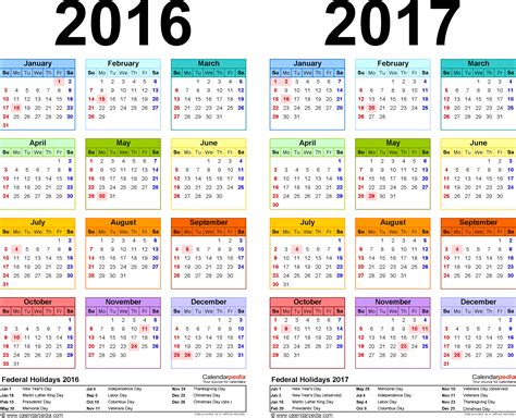 2017 calendar with canadian holidays