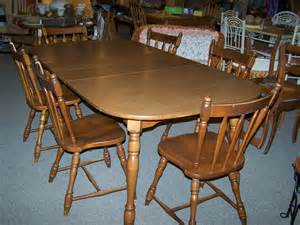 Maple Dining Room Sets by Exceptional Used Dining Sets 4 Vintage Maple Dining Room