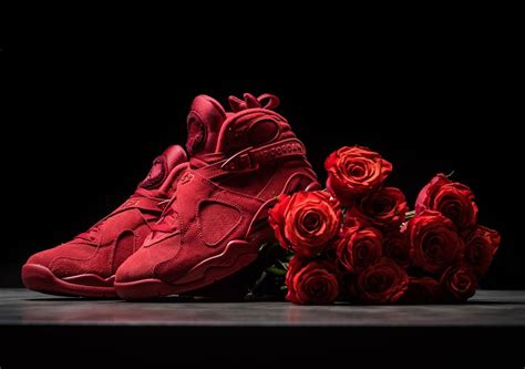 new valentines jordans air 8 quot s day quot wmns detailed images