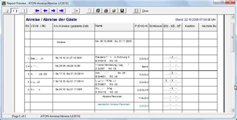 Muster Nebenkostenabrechnung Word Aton Fewo Aton Hotel Reservierungssoftware Buchungssystem Reservierungssystem Buchungssoftware