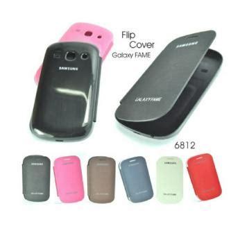 Casing Samsung Galaxy Fame S6810 folio flip cover samsung galaxy fame s6810 grosir
