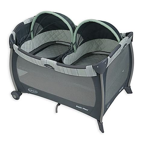 pack and play bed graco 174 pack n play 174 playard with twin bassinets in mason