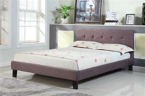 crazy beds crazy beds blenheim brown fabric upholstered double king