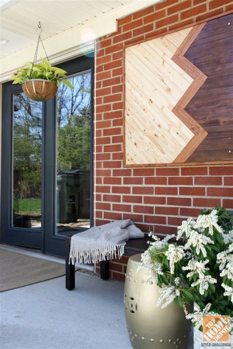 outside brick wall designs 10 diy wall art projects for the outdoors