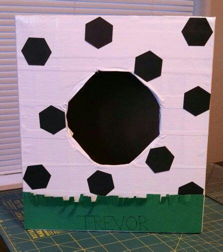 soccer valentines box soccer box things i ve made or done