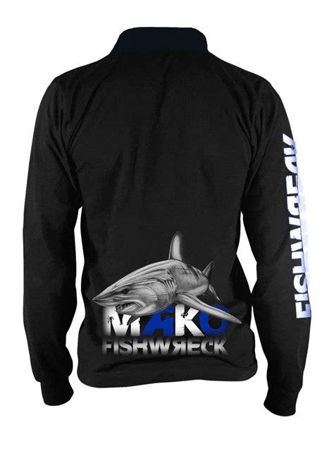 mako boats apparel mako fishing shirt fishwreck fishing apparel and boat