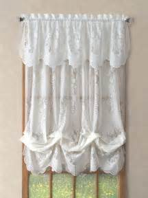 Curtains Valances And Swags Lace Valances Balloon Shades Swags M Valances