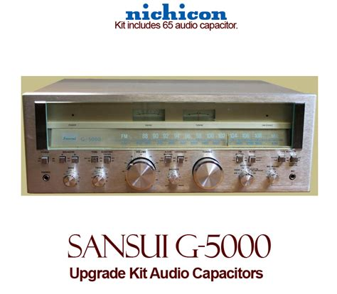 capacitor upgrade sansui g 5000 upgrade kit audio capacitors