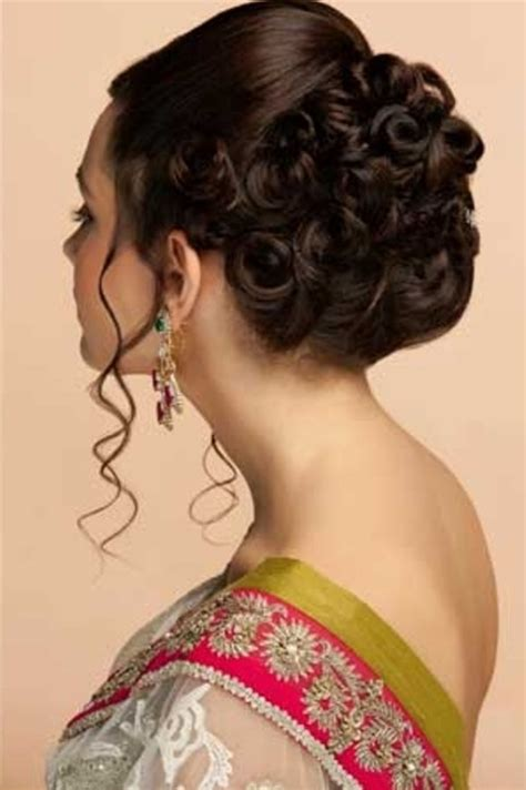 indian hairstyles short hair weddings indian wedding reception hairstyle pictures hollywood