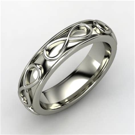 infinity mens wedding band s infinity wedding band onewed