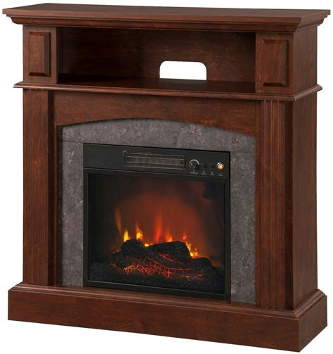 fireplace tv stand living room electric flame heater