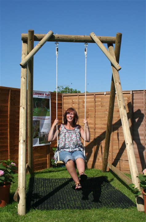 adult sized swing set garden play swings page 1 caledonia play