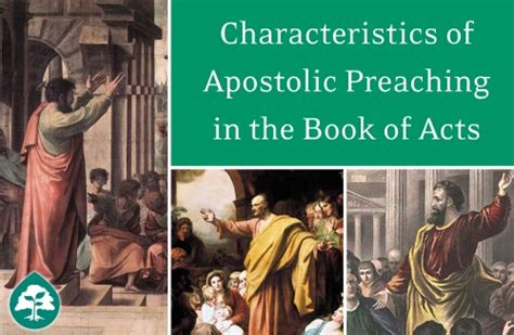 acts lifechange books 6 characteristics of apostolic preaching in the book of