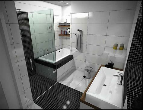 Pin By Luckydandelion On Home Garden Pinterest Small Black And White Bathrooms Ideas