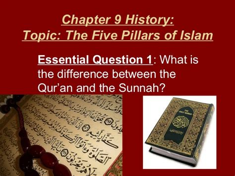 the qur an problem and islamism reflections of a dissident muslim books chapter 9 history part 1 quran sunnah pillar