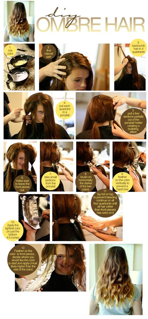 25 best ideas about diy ombre hair on ombre hair at home going and