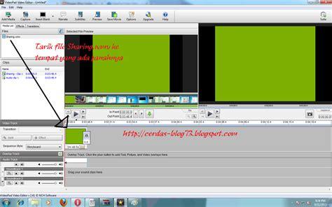 videopad tutorial subtitles cara membuat tulisan subtitle pada video blog cerdas