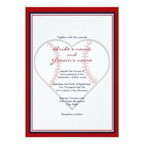 Sports Theme Wedding Invitations by 308 Best Sports Wedding Invitations Images On