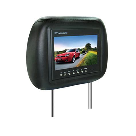 Tv Headrest china 7 digital car headrests dvd china headrests dvd