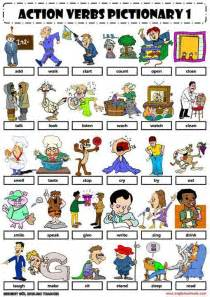 vocabulary verbs dr who pictures