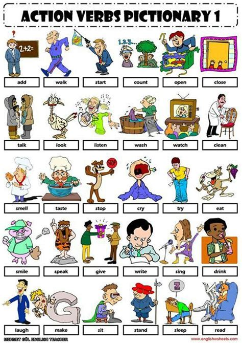 vocabulary verbs charts dr who and